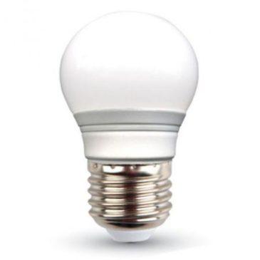 LED V-TAC Λάμπα Ε27 3W (G45) Ψυχρό Λευκό 6400Κ 7204 (7204)