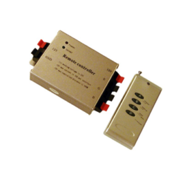 Led RGB controller Ασύρματο (RF) 4 κουμπιά με Dimmer 144W( 3303 6304)
