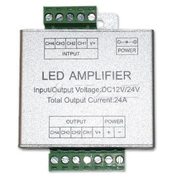 LED RGB +white ενισχυτής 216W+72W 12V V-TAC για την ταινια 2159(3327)