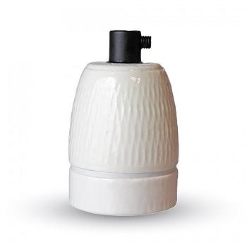 Ντουί Πορσελάνης Ε27 V-TAC Λευκό(3795)