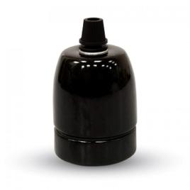 Ντουί Πορσελάνης Ε27 V-TAC Μαύρο(3796)
