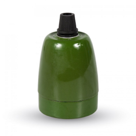 Ντουί Πορσελάνης Ε27 V-TAC Πράσινο(3797)