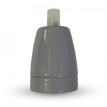 Ντουί Πορσελάνης Ε27 V-TAC Γκρι(3800)