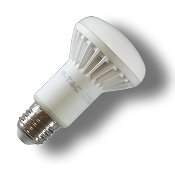 LED V-TAC Λαμπτήρας E27 καθρέπτη 8W (R63) Φώς Ημέρας(4140)