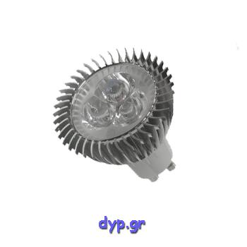 LED Spot GU10 3×1 Watt Φώς ημέρας(77451)
