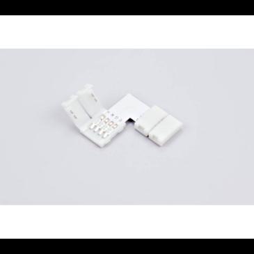 Γωνιακός Connector Χωρίς Καλώδιο για ταινία RGB(AC6621)