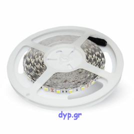 LED Ταινία 9W (1000L) 60 smd 5050 Led/m Φώς Ημέρας(2143)