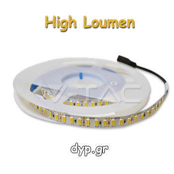 LED Ταινία 18W 240 led smd 2835/m High Lumen Ψυχρό Λευκό(2166)