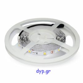 LED Ταινία 4,8W (7.2W) 30 smd 5050 Led/m Ψυχρό Λευκό(2133)