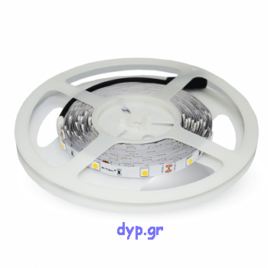 LED Ταινία 4,8W (7.2W) 30 smd 5050 Led/m Θερμό Λευκό(2135)
