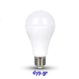 Λάμπα LED 15W Samsung Chip A65 E27 Ψυχρό λευκό (0161)