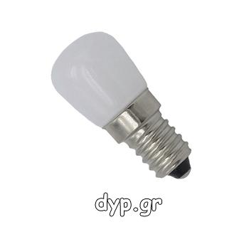 LED Λαμπάκι Ε14 Mini 3 Watt Ψυγείου Θερμό Λευκό(07732)