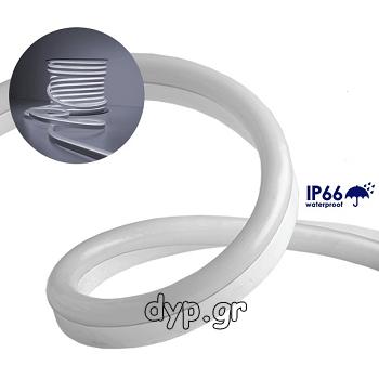 LED NEON FLEX 230V Ψυχρό Λευκό IP66 Dimmable(22501)