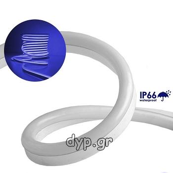 LED NEON FLEX 230V Μπλε IP66 Dimmable(22505)
