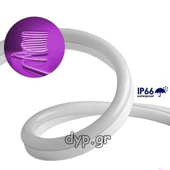 LED NEON FLEX 230V Ροζ-Φούξια IP66 Dimmable(22508)