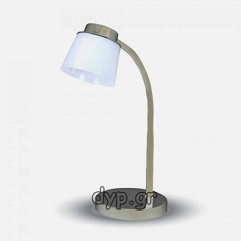 V-TAC Επιτραπέζιο φωτιστικό γραφείου LED Λευκό 5W Φως Ημέρας 4000K(7051)