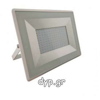 LED Προβολέας E-Series SMD 100W Λευκός Ψυχρό Λευκό(5969)