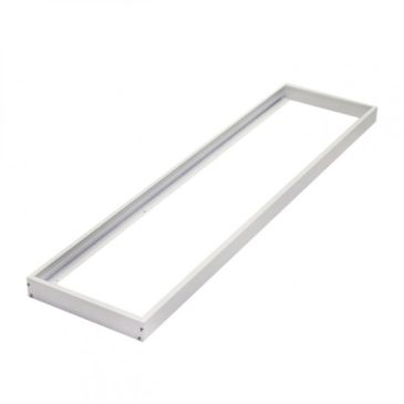Εξωτερικό πλαίσιο στήριξης LED Panel 120×30 Λευκό (B12030)