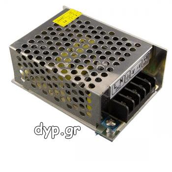 Τροφοδοτικό LED 36Watt 3A 12Volt DC Μεταλλικό(AC6121)