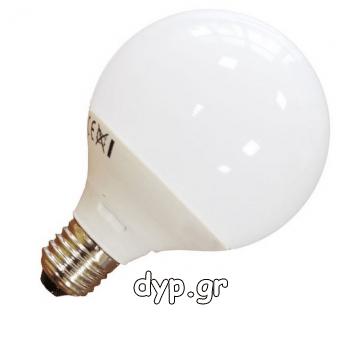 V-TAC LED Λάμπα Ε27 (G120) 13W ΣΦΑΙΡΙΚΗ Ντιμαριζόμενη Φως Ημέρας 7194 (7194)