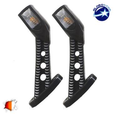LED Set Πλευρικά Φώτα Όγκου Φορτηγών IP66 Κέρατο 24 Volt GloboStar 75491