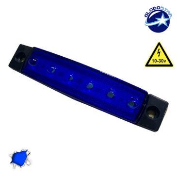 LED Φώτα Όγκου Φορτηγών IP66 Μπλε GloboStar 77473