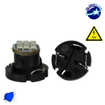 Λαμπτήρας LED T4.2 3 SMD 4014 12 Volt Μπλε GloboStar 14503