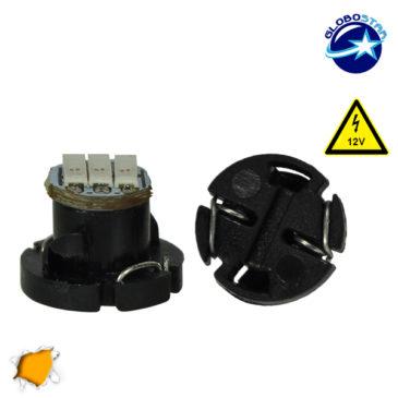 Λαμπτήρας LED T4.2 3 SMD 4014 12 Volt Πορτοκαλί GloboStar 14504