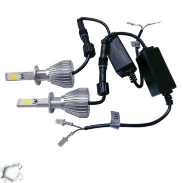 LED HID Kit H1 36 Watt 9-36 Volt DC 3600 Lumen 6000k C6 Economy Line GloboStar 06660
