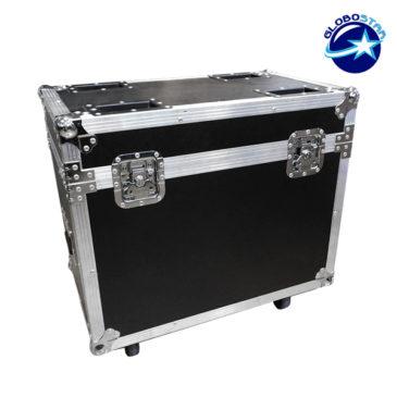 Επαγγελματικό Flight Case Κινούμενης Ρομποτικής Κεφαλής WASH CREE LED 360W 230V 12°-75° DMX512 RGBW GloboStar 51126