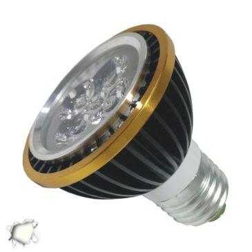 Λάμπα LED E27 PAR20 Σποτ 5W 230V 470lm 90° Φυσικό Λευκό 4500k GloboStar 77462