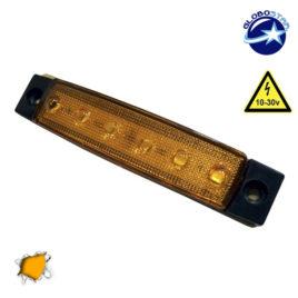 LED Φώτα Όγκου Φορτηγών IP66 Πορτοκαλί GloboStar 77471