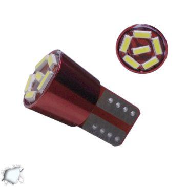 Λαμπτήρας LED T10 6 SMD 4014 Can Bus Ψυχρό Λευκό GloboStar 04728