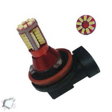 Λαμπτήρας LED H8 Can Bus με 57 SMD 3014 6000k GloboStar 40134