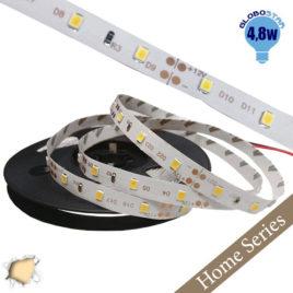 Home Series Ταινία LED 4.8 Watt 12 Volt Θερμό Λευκό IP20 GloboStar 33402