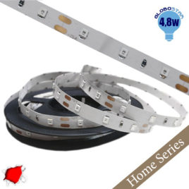 Home Series Ταινία LED 4.8 Watt 12 Volt Κόκκινο IP20 GloboStar 33403