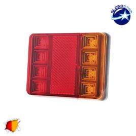 Πίσω Φανάρι Τρέιλερ 8 LED 12 Volt Universal IP66 GloboStar 75494