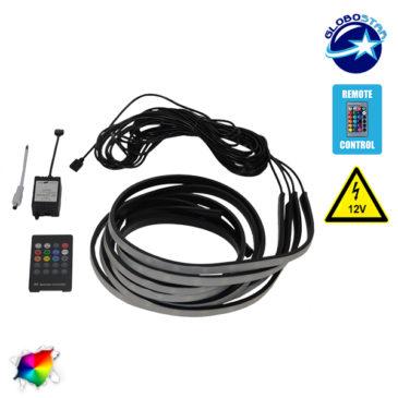 Ασύρματο Εξωτερικό ΚΙΤ RGB για Φωτισμό Αυτοκινήτου GloboStar 54344