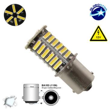 Λαμπτήρας LED 1156 36 SMD 7020 Ψυχρό Λευκό GloboStar 45621