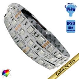 Ταινία LED 14.4 Watt 12 Volt RGB IP20 GloboStar 89840