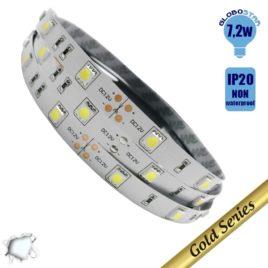 Ταινία LED 7.2 Watt 12 Volt Ψυχρό Λευκό IP20 GloboStar 59840