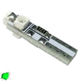 Λαμπτήρας LED Τ5 με 3 SMD 1210 Πράσινο GloboStar 25650
