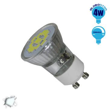 LED Spot GU10 M35 4W 230v Ψυχρό Dimmable GloboStar 90600