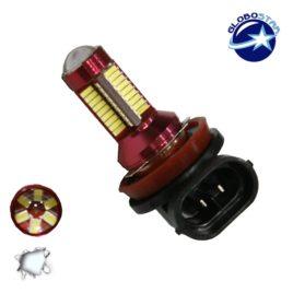 Λαμπτήρας LED H11 Can Bus με 78 SMD 4014 10-30v 6000k GloboStar 40194