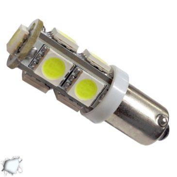 Λαμπτήρας LED Ba9s με 9 SMD 5050 Ψυχρό Λευκό GloboStar 37340