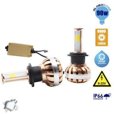 LED HID KIT H7 45 Watt 4500 Lumen 9-32 Volt DC 6000k GloboStar 99703