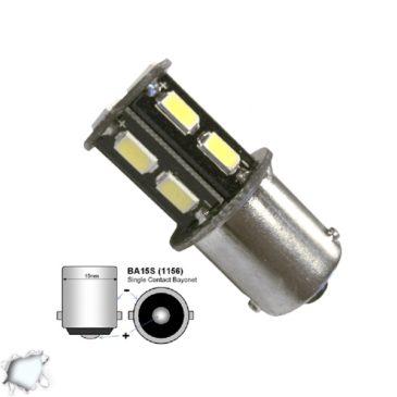 Λαμπτήρας LED 1156 13 SMD 5630 Ψυχρό Λευκό GloboStar 45623