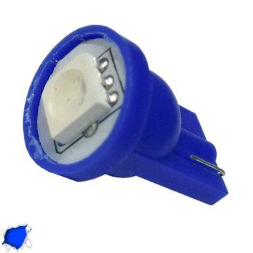 Λαμπτήρας LED T10 με 1 SMD 5050 Μπλε GloboStar 45650