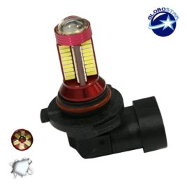 Λαμπτήρας LED H10 Can Bus με 78 SMD 4014 10-30v 6000k GloboStar 40196