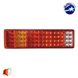 Πίσω Φανάρι Φορτηγού 64 LED 24 Volt Universal IP66 GloboStar 75497